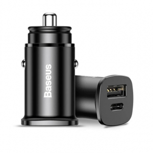 Baseus 30W 2xUSB Quick Charge 4.0 AFC SCP Car Charger