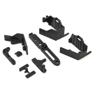 Tekno RC EB410/ET410 Side Guard & Servo Mount Set
