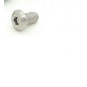 Titanium M3 x 6mm Dome Head Hex Screw