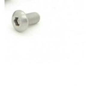 Titanium M3 x 6mm Dome Head Hex Screw
