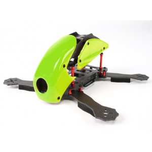 HobbyKing™ RoboCat 270mm True Carbon Racer Quad (Green)
