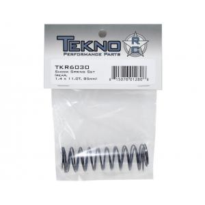 Tekno RC 85mm Rear Shock Spring Set (Pink) (1.4 x 11.0T) (2) TKR6030