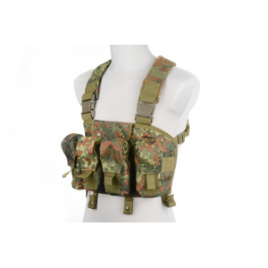 Chest Rigg type tactical vest- Flecktarn