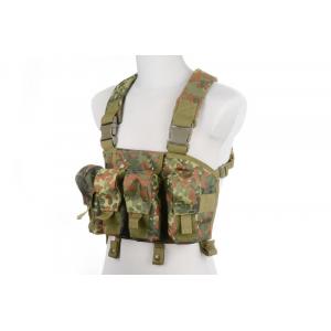 Chest Rigg type tactical vest- Flecktarn