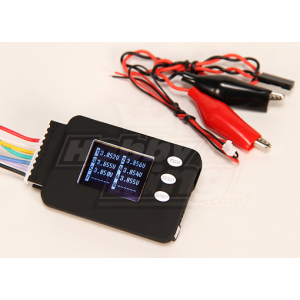 Cell-Log 8M Cell Voltage Monitor 2-8S Lipo