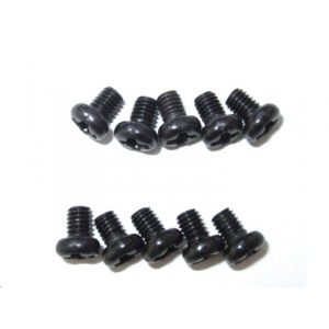 M3x4mm Phillips Button Head Screw (10pcs)