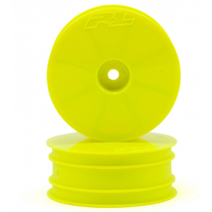"Pro-Line Velocity 2.2"" Front Wheels (2) (B6/RB6) (Yellow)"