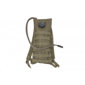 Hydration cover with insert - olive