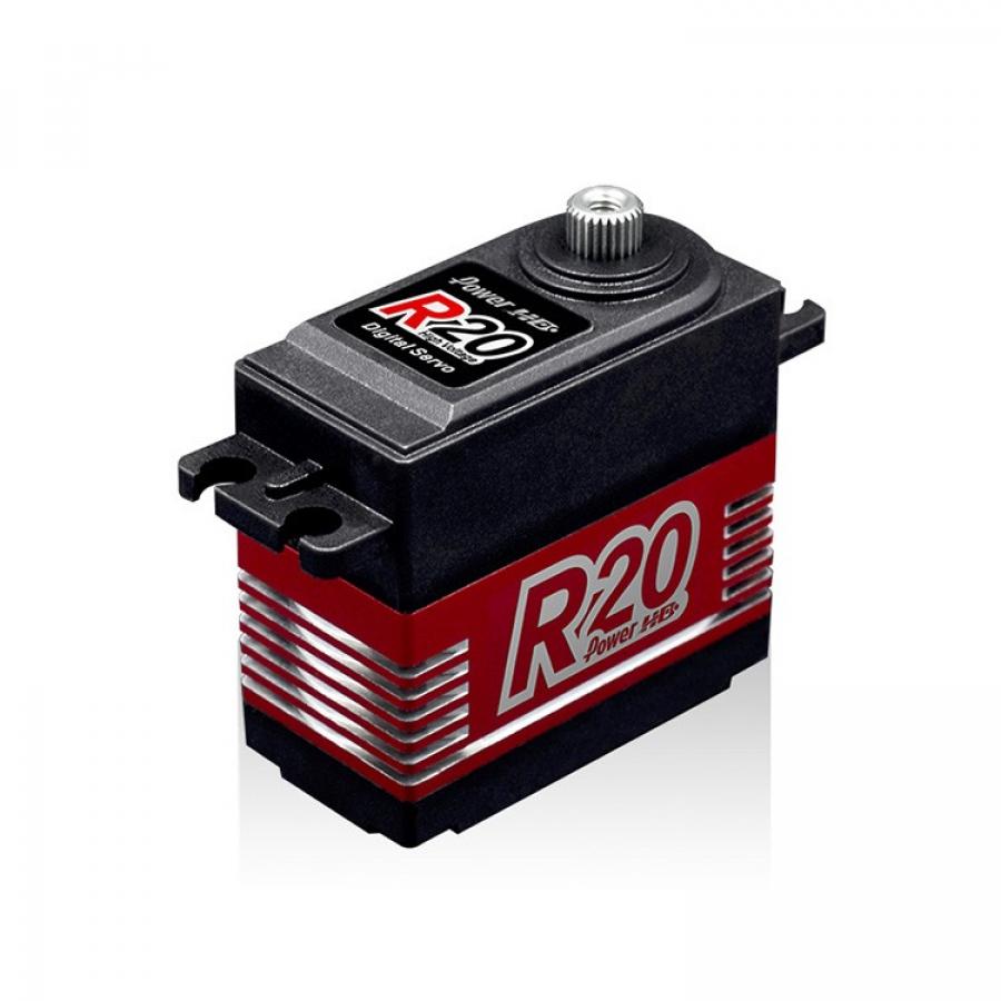 POWER HD R20 Alloy Gear Digital Coreless High Voltage Servo