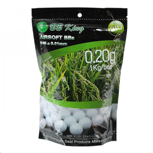 BB King High Precision BIO BBs 0.20g 5.000er bag white
