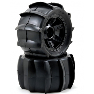 "Sling Shot Paddle Tires on 3.8"" Wheels (2)"