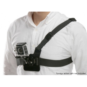 Lightweight 3 Point Chest Mount Harness For GoPro / Turnigy Action Cam