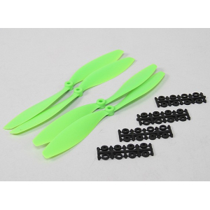 10x4.5 SF Props 2pc Standard Rotation/2 pc RH Rotation (Green)
