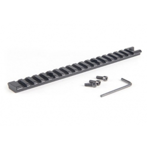 Tactical 20cm 7.85'' Picatinny Weaver 20mm Rail Scope Mount Base 18 Slots Rifle Gun Hunting Airsoft Accessory
