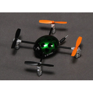 Walkera QR Ladybird V2 FPV Dronas Ultra Micro dronas w/Devo F4 RTF (Mode 2)