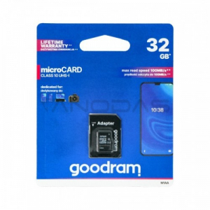 32GB 100MB/s Memory microSD card Goodram M1AA