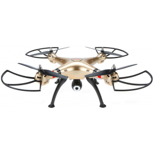 Syma X8HW WIFI FPV With 1MP HD Camera 2.4G 4CH 6-Axis Altitude Hold RC Quadcopter RTF - Pradedantiesiems skraidyti lauke su aukščio palaikymu bei tiesiogine transliacija į mobilųjį telefoną