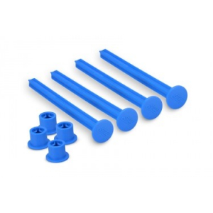 JCONCEPTS - 1/8TH OFF-ROAD TIRE STICK - HOLDS 4 MOUNTED TIRES (BLUE)