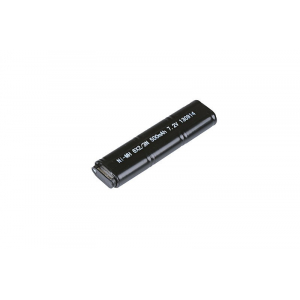 NiMH 7,2V 500mAh battery for Cyma pistol replicas CM030, CM121, CM122, CM123, CM125, CM.126