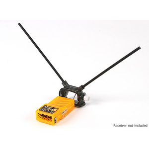 HobbyKing™ Adjustable Receiver Antenna Mount Dual 45deg