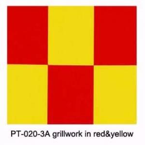 Dengimo plėvelė (languota geltona+raudona)(600mm*1meter)