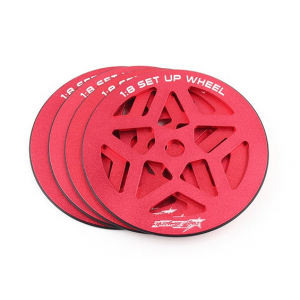 1/8 Scale Set-up Wheel Set (4pcs)