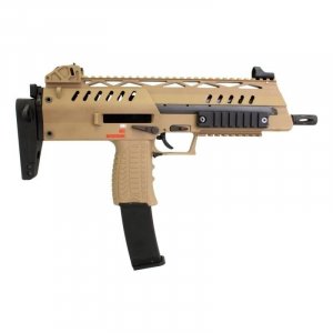 SMG8 sub machinegun replica - tan