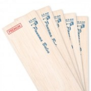 Panama 1,0 mm PREMIUM Balsa sheet