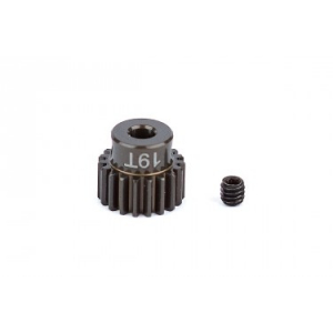 FT Aluminum Pinion Gear, 19T 48P, 1/8 shaft
