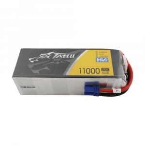 Tattu 11000MAH 22.8V HV 25C 6S1P Lipo Battery Pack akumuliatorius automodeliui su EC5 Plug
