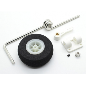 Sprung Steering Nose Wheel Assembly For 46~60 Class Models