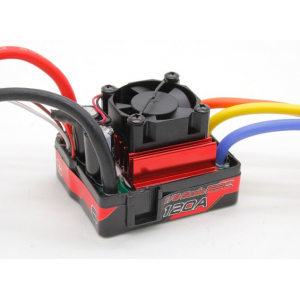 TrackStar Waterproof Brushless 1/8th 120A ESC