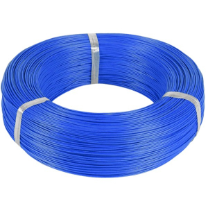 MSP Silicone power cable 20AWG 0.5mm2 1m BLUE