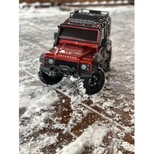 TRX-4 Scale & Trail Crawler Land Rover Defender Red RTR paruoštas naudoti RC modelis
