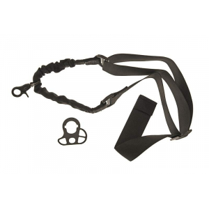 One point Bungee sling with mount - black