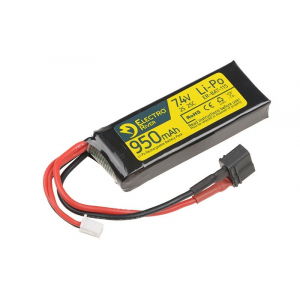 LiPo 7,4V 950mAh 25/50C T-connect (DEANS) Battery