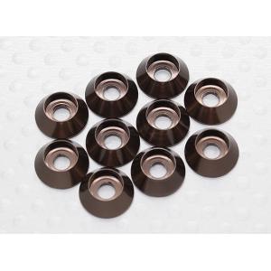 Sockethead Washers Anodised Aluminum M3 (Titanium Grey) 1vnt
