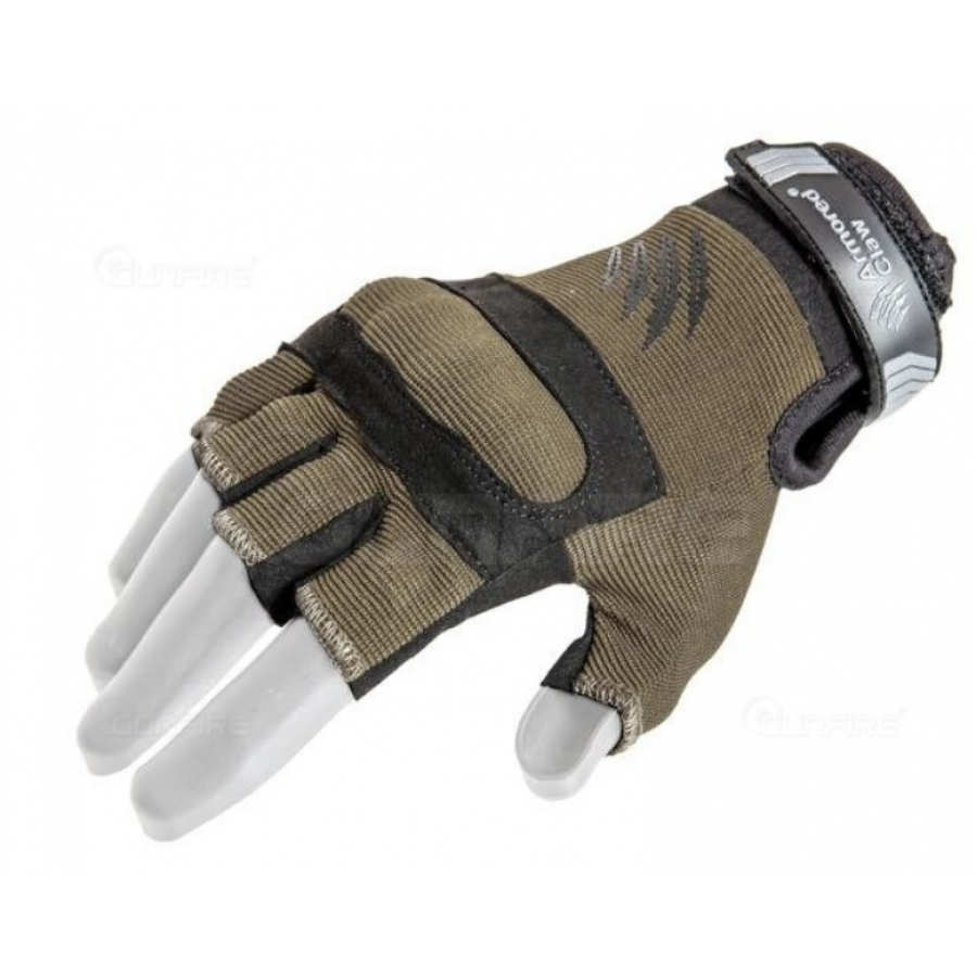 (XL dydis) Armored Claw Shield Flex™ Cut Hot Weather Tactical Gloves – Olive Drab