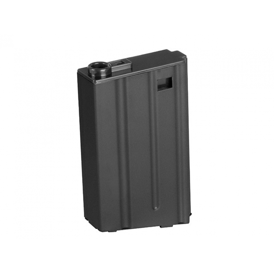 75-ROUND STEEL AR-15 dėtuvė- BLACK [BATTLEAXE]