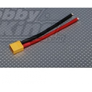 XT60 Male w/ 12AWG Silicon Wire 10cm 1VNT