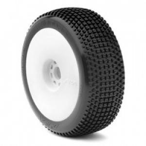 1:8 Buggy Enduro (Super Soft) Evo Wheel Pre-Mounted White