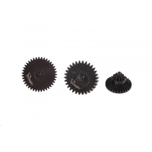 [TOR-08-017106] Set of Steel CNC Gears High Torque 32:1