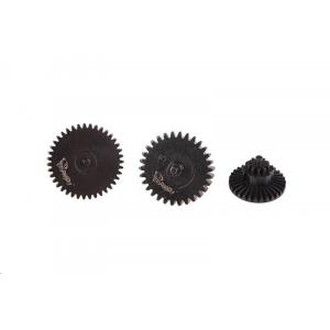 [TOR-08-017106] Set of Steel CNC Gears High Torque 32:1