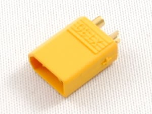 XT30 Power Connectors for 30A Continuous Applications (ESC Side)