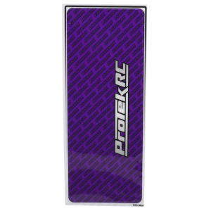 ProTek RC Universal Chassis Protective Sheet (Purple) (1) (12.5x33.5cm)