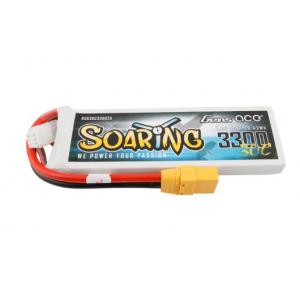 Gens ace Soaring 3300mAh 7.4V 30C 2S1P Lipo Battery Pack with XT90 plug