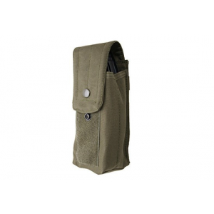 Single Pouch for 2 AK Magazines - Olive Drab