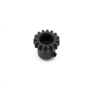 Motor gear 15T w/M4x4 grub screw - Basher SaberTooth 1/8 Scale