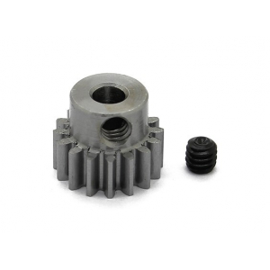 Robinson Racing Steel Pinion Gear 16T MOD 0.6M