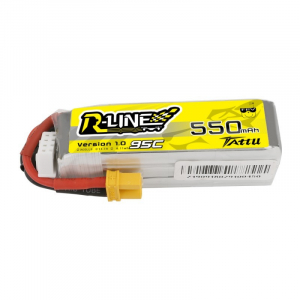 Tattu R-Line 550mAh 11.1V 3S1P 95C Lipo Battery